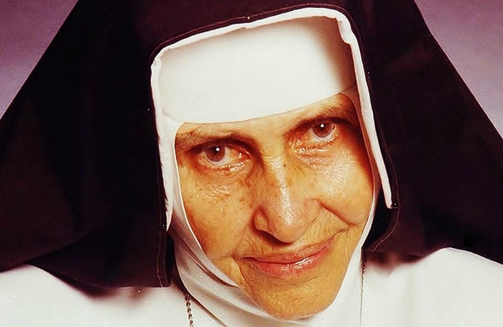 Irmã Dulce será a terceira mais rápida da história — Foto:  Reprodução/Site da Osid