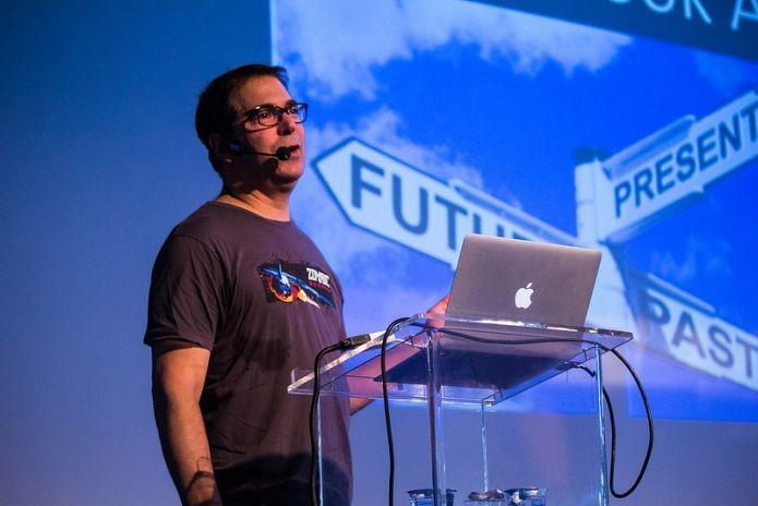 Brasileiro precisa ser mais original ao criar seus próprios jogos, diz americano (Foto: Campus Party Brasil/Divulgação)