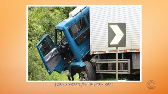 Acidente entre ônibus e caminhão deixa feridos na ERS-129