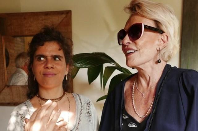 Foto da apresentadora com a filha, Mariana (Foto: Reprodução/Instagram)