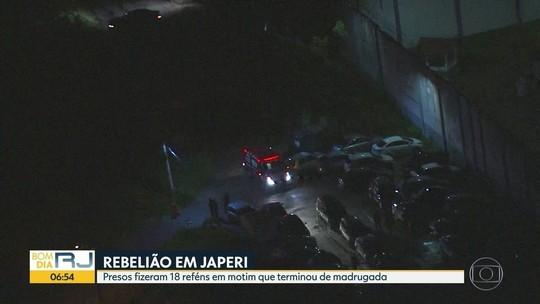 Rebelião no Rio acaba com 18 reféns libertados; 3 presos foram baleados