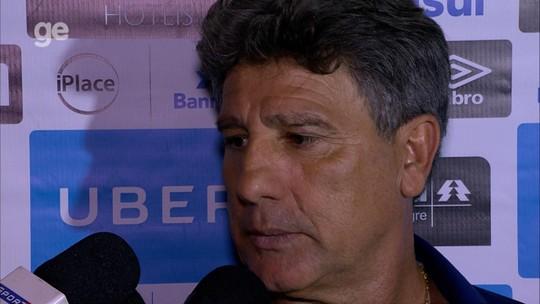 Renato confirma baixas de Everton e Luan para jogo com River Plate na Argentina