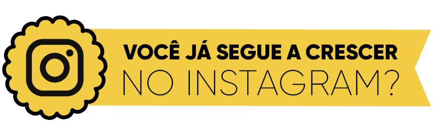 Rodapé Instagram (Foto: Crescer)
