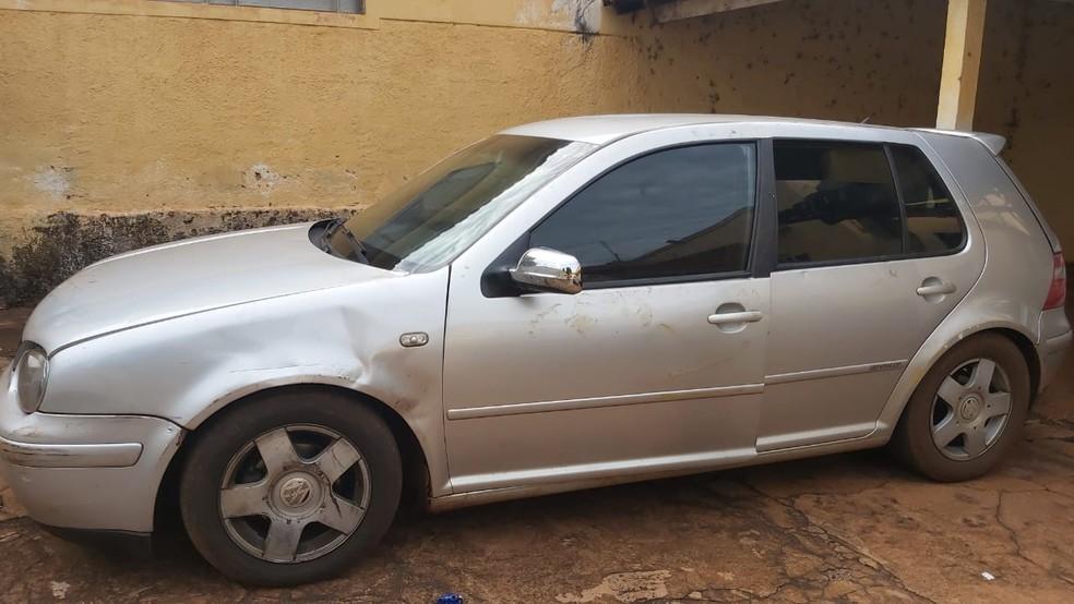 Veículo é apreendido durante operação em Miguelópolis (SP).  — Foto: Fábio Reis