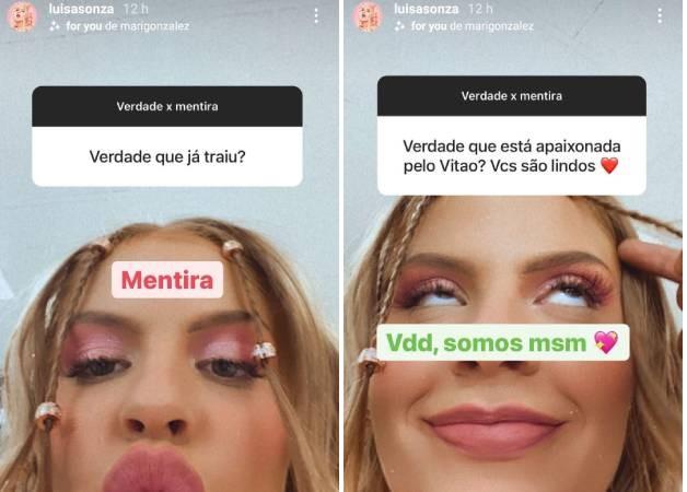Luísa Sonza responde a curiosidades de seus seguidores (Foto: Reprodução/Instagram)