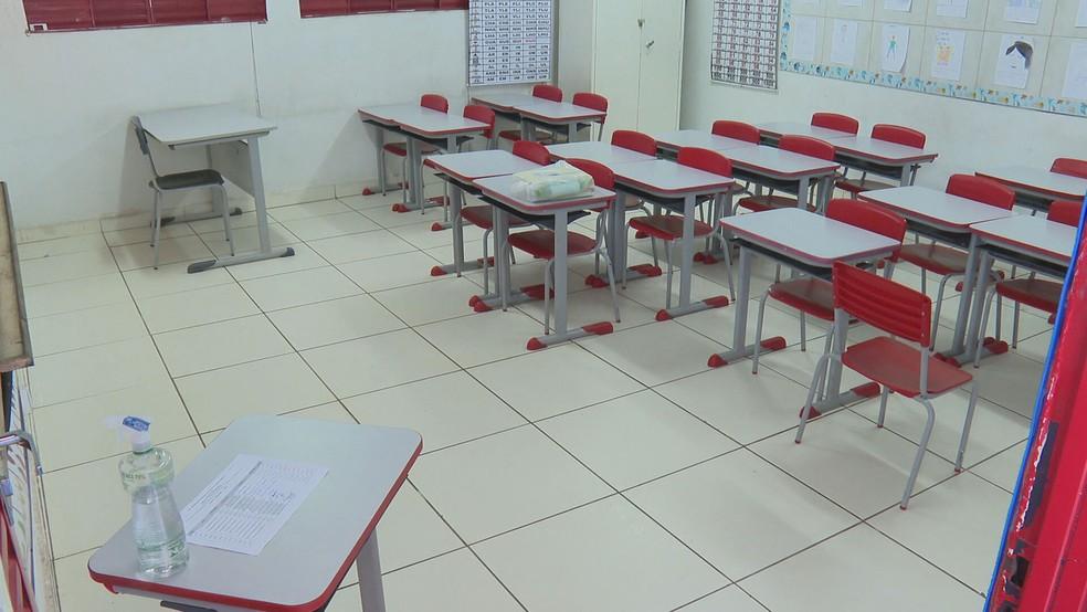 Estado de Rondônia segue sem previsão de retorno com aula presencial — Foto: TV Globo/Reprodução