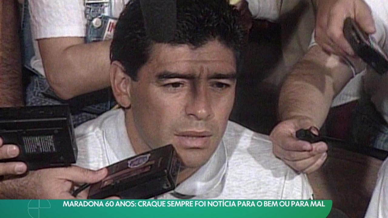 Craque, midiático, polêmico, genial: Diego Maradona completa 60 anos