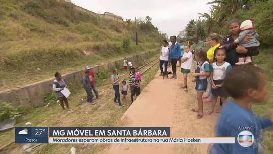 MG Móvel está, pela 4ª vez, no bairro São Vicente, em Santa Bárbara