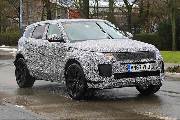 flagra range rover evoque ter nova gera o em 2019 auto esporte not cias. Black Bedroom Furniture Sets. Home Design Ideas
