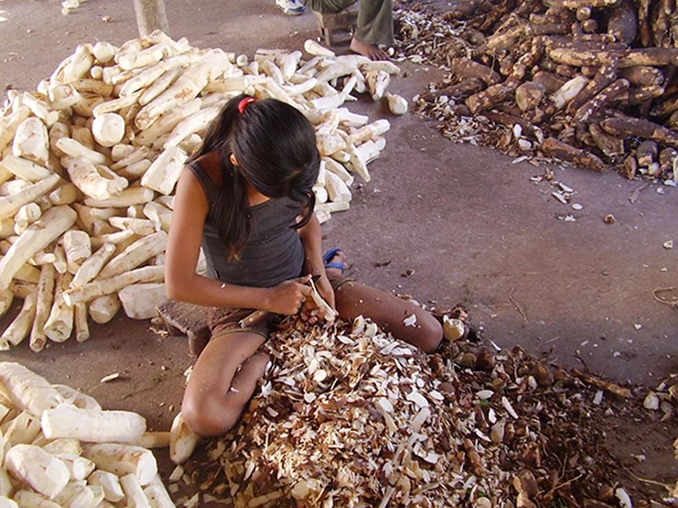 Trabalho infantil — Foto: Divulgação/ Editora Cidade/ Notícia Agora