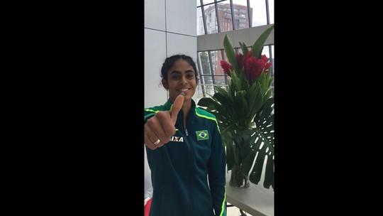 No Pan de Atletismo, Maria Victória Belo de Sena quebra recorde brasileiro sub-20 dos 400m