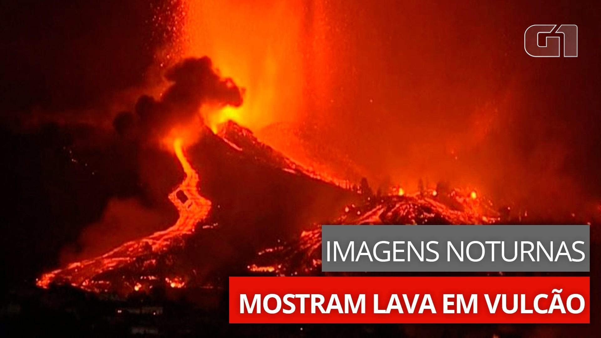 VÍDEOS: Vulcão nas Ilhas Canárias