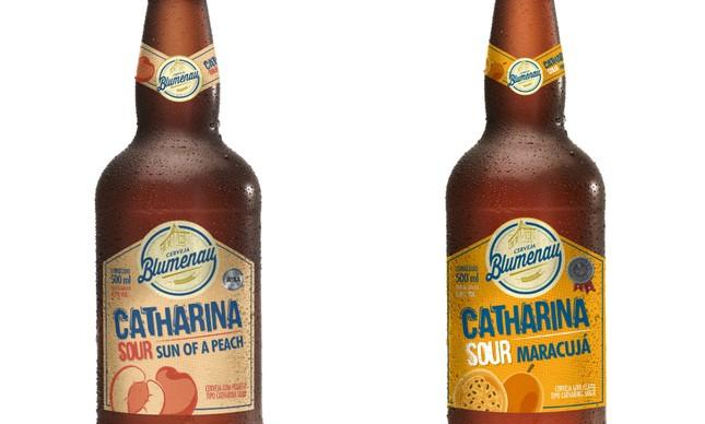 A Catharina Sour da Cervejaria Blumenau