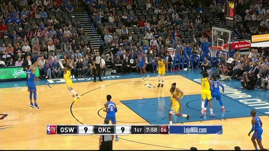 NBA tem noite dos visitantes, texanos endiabrados e dancinha bizarra de Westbrook