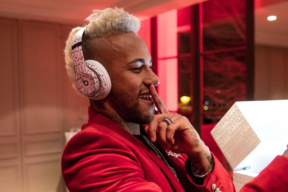 Beats Studio3 ganha versão personalizada do Neymar JR. — Foto: Divulgação/Beats