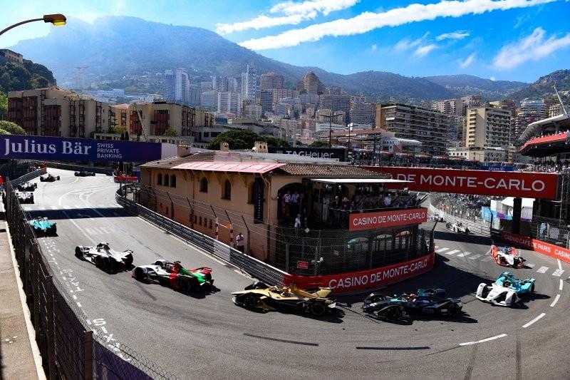 Etapa da Fórmula E disputada no circuito de rua de Mônaco (Foto: Divulgação/ Fórmula E )