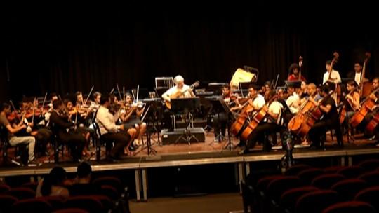 Orquestra Sinfônica Jovem se apresenta no Theatro Vasques