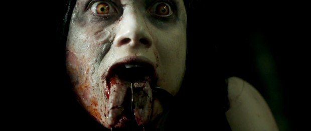 Cena do remake de 'A Morte do Demônio' (Foto: Divulgação)