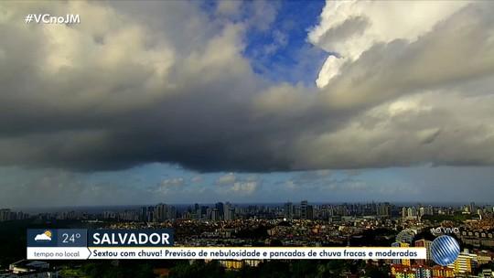 Previsão do tempo: fim de semana pode ter chuva em Salvador e outras cidades do estado