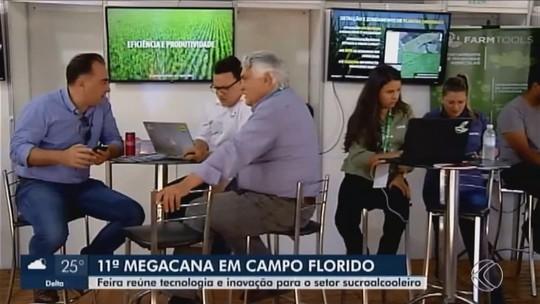 Megacana Tech Show reúne produtores rurais, fornecedores e autoridades em Campo Florido