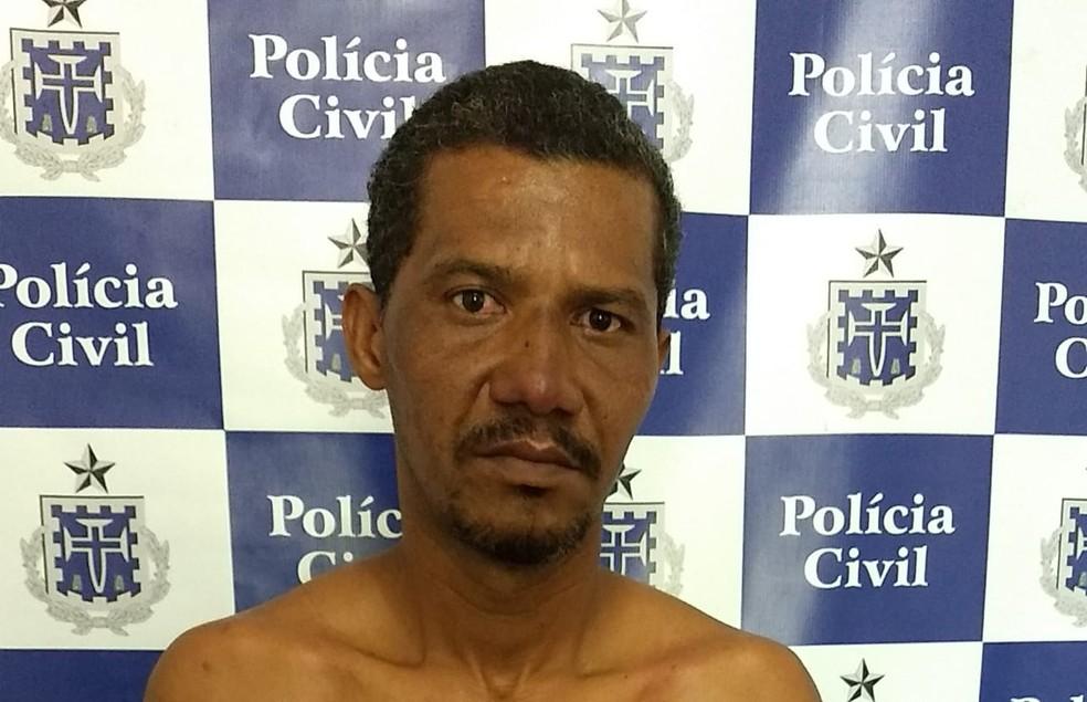 Homem de 40 anos é preso após estuprar enteada de 21 enquanto jovem dormia, no sudoeste da BA — Foto: Divulgação/Delegacia de Itapetinga