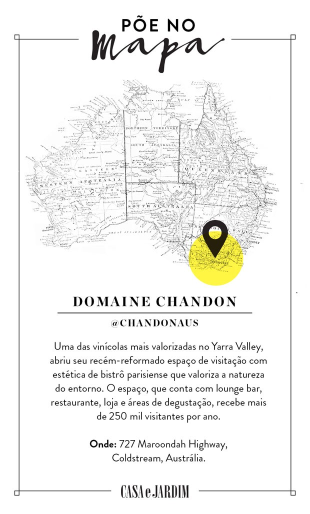 Domaine Chandon, na Austrália (Foto Divulgação) (Foto: Victor Amirabile)