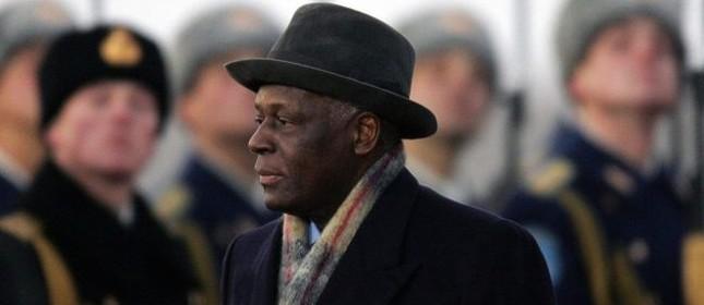 José Eduardo dos Santos, presidente de Angola (Foto: Divulgação)