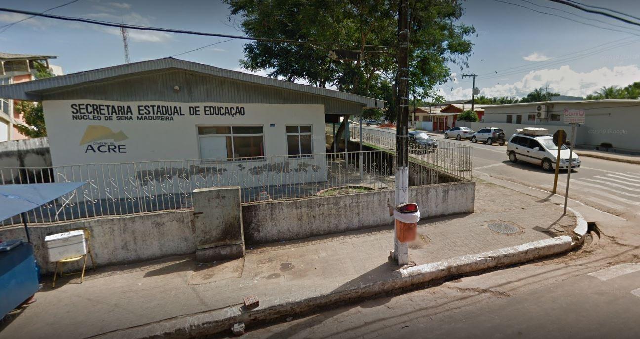 Auditório em situação precária de escola no interior do Acre é alvo de ação do Ministério Público