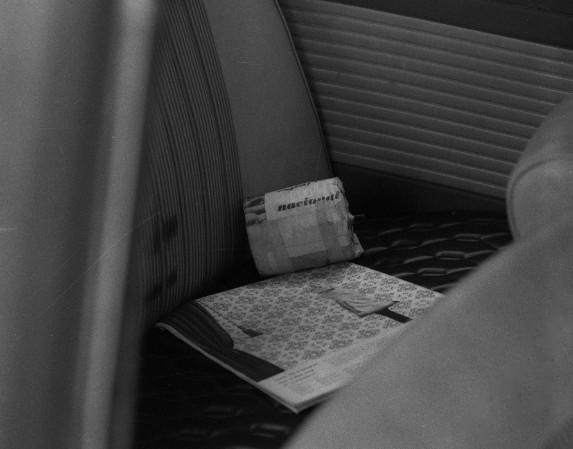 Bomba de fabricação caseira encontrada no fusca azul abandonado pelos sequestradores