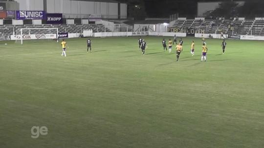 Divisão de Acesso tem surpresa em Crissiumal e confusão em Bagé; veja gols