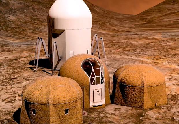 projeto habitat Marte (Foto: Divulgação)
