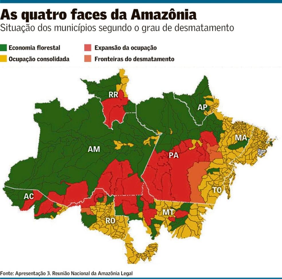 Plano para Amazônia mostra visão híbrida | Brasil | Valor Econômico