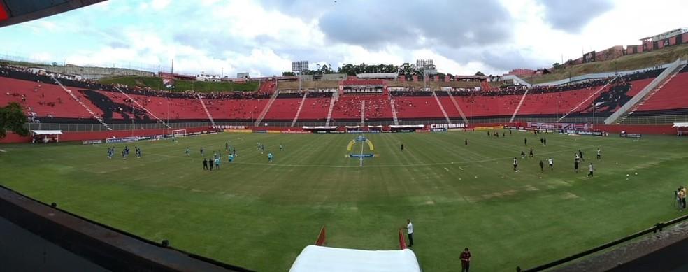 Barradão vai receber partidas do Vitória de menor apelo — Foto: Gustavo Castellucci