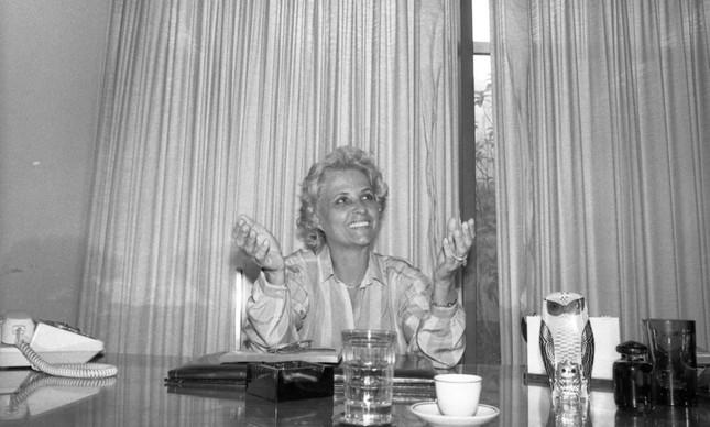 A senadora Eunice Michiles em Brasília
