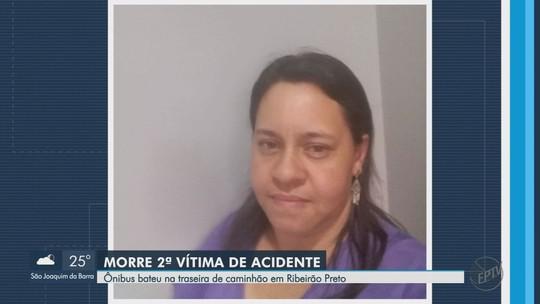 Morre 2ª vítima de colisão entre ônibus e caminhão em rodovia de Ribeirão Preto