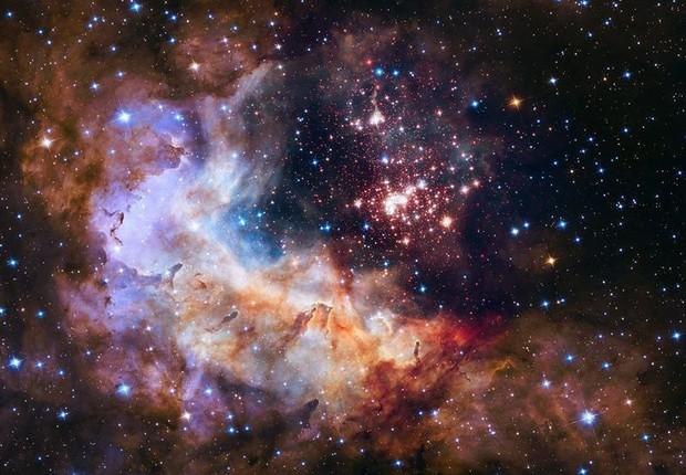 Hubble mudou a percepção da humanidade sobre o espaço (Foto:  EFE/NASA)