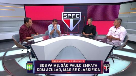 """André Rizek analisa momento do São Paulo: """"Parece estar jogando sempre o primeiro jogo do ano"""""""