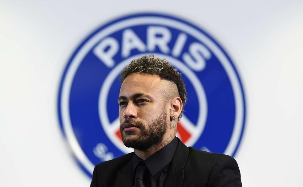 Neymar renova com PSG até 2025 — Foto: divulgação / psg.fr