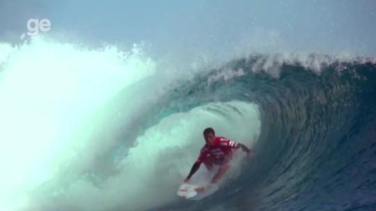SporTV.com transmite todas as etapas do Mundial de surfe ao vivo