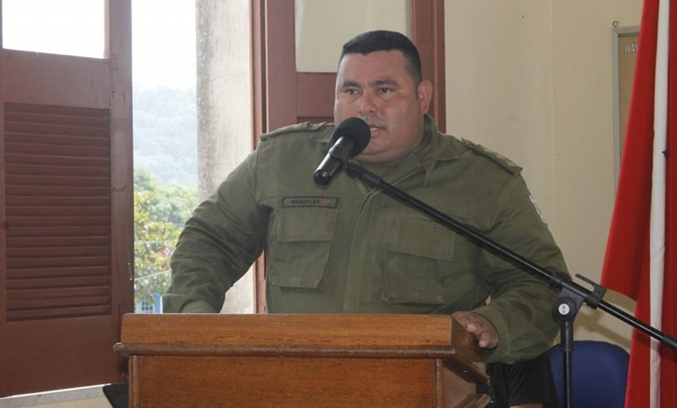 Capitão Marcel Wanzeler assumiu o comando da 29ª CIPM de Óbidos em 5 de outubro de 2017 (Foto: Reprodução/Rede Social)
