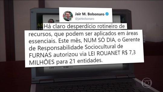 Bolsonaro promete controle rígido na liberação do dinheiro público a partir de 2019