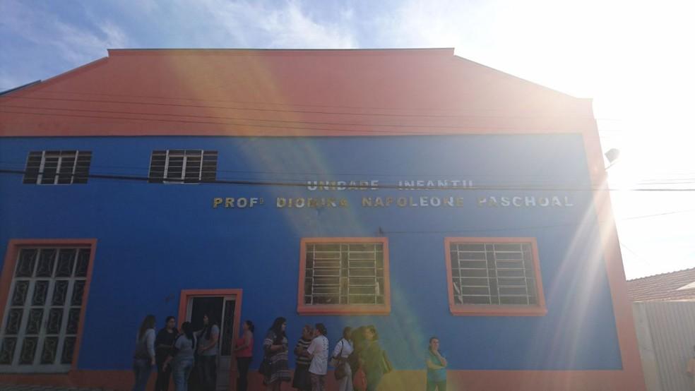 Bercário atende crianças de até 3 anos e foi reformado no ano passado  (Foto: Julia Martins / G1 )