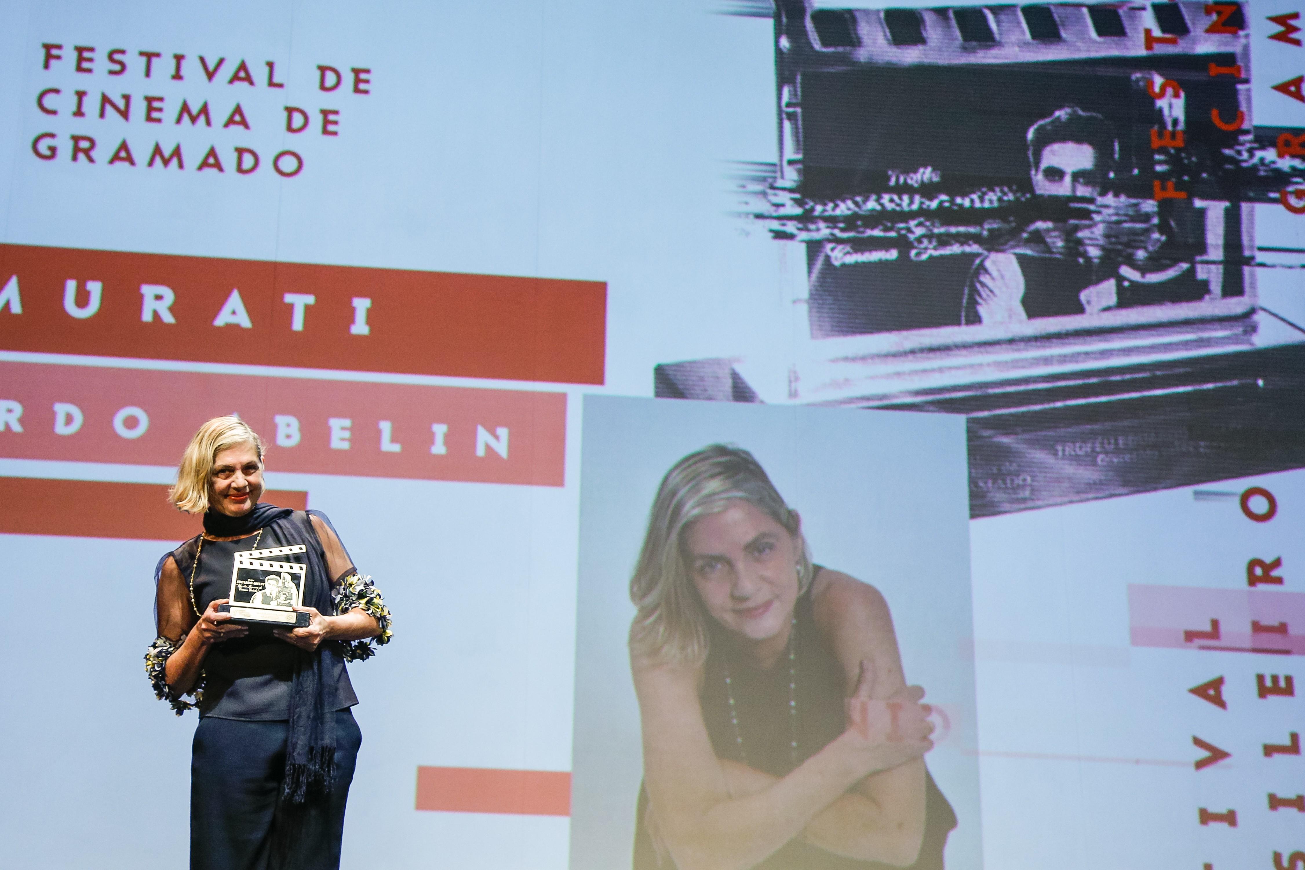 Carla Camurati é a primeira homenageada do 47º Festival de Cinema de Gramado  - Notícias - Plantão Diário
