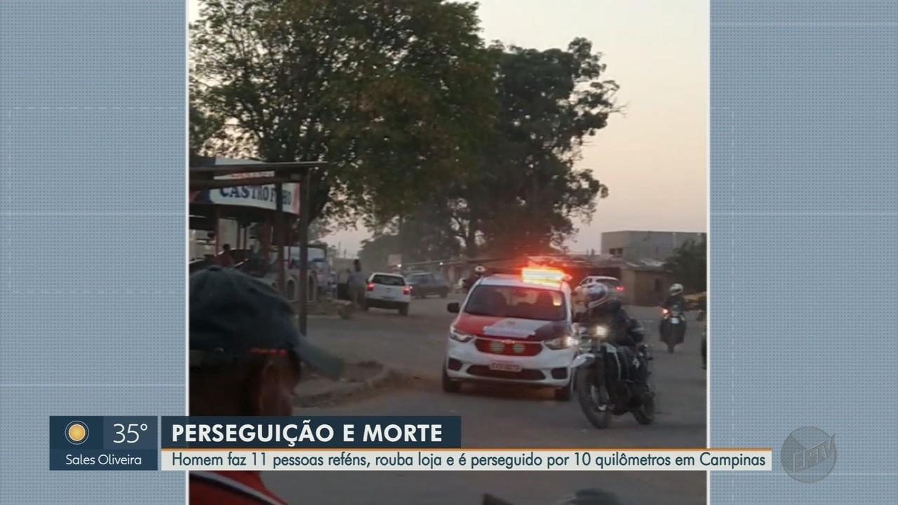 Perseguição policial termina em morte no Sul de Minas