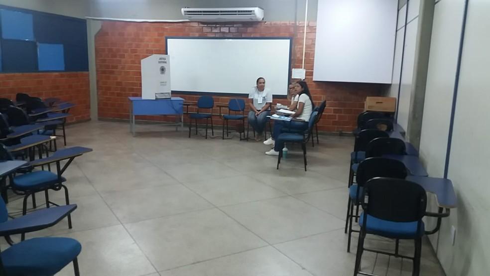 Ausência do eleitor na eleição suplementar chegou a 355.032 (Foto: Jairo Santos/TV Anhanguera)