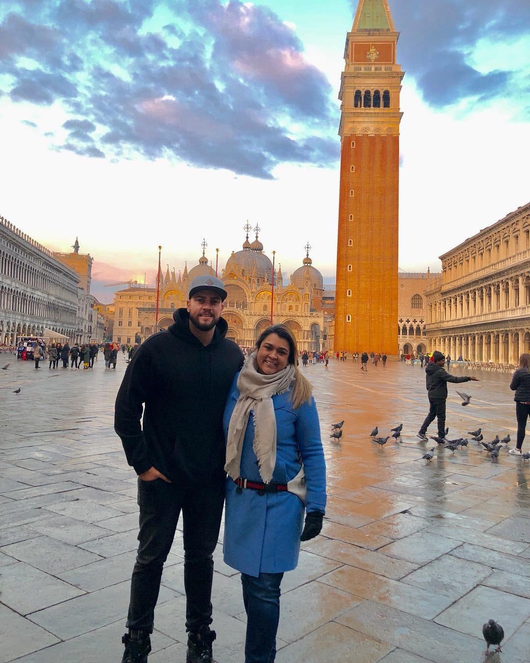 Preta Gil e Rodrigo Godoy em Veneza (Foto: Reprodução/Instagram)