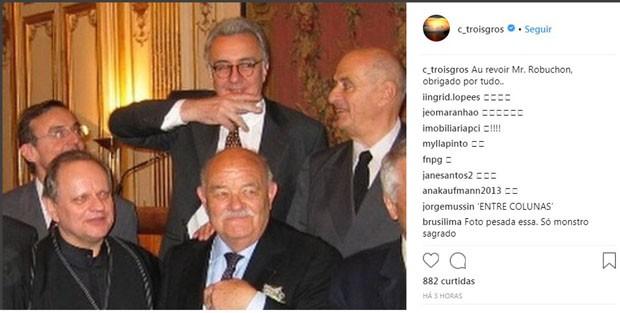 Morre, aos 73 anos, o chef Joël Robuchon (Foto: Reprodução)