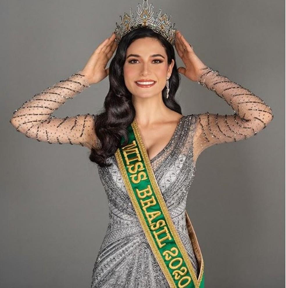 Gaúcha Julia Gama venceu o Miss Brasil 2020 — Foto: Reprodução/@juliawgama/Instagram