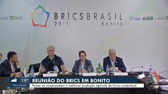 Ministros de agricultura do Brics se reúnem em Bonito