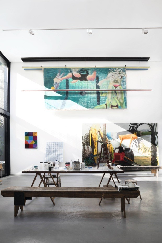 Thiago Bernardes reforma o ateliê de importante artista carioca (Foto: Ruy Teixeira)